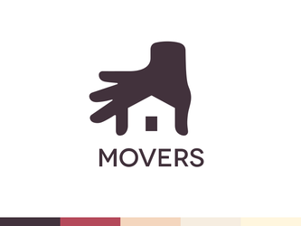 Movers Logo Design by Ramotion