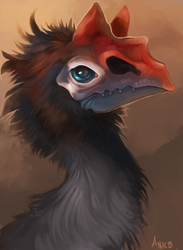 Terror Bird by ANicB