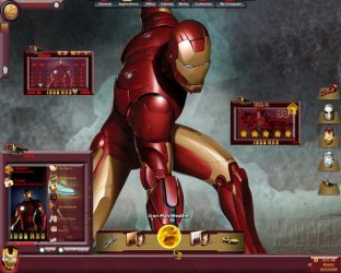 Ultimate Iron Man by Calal