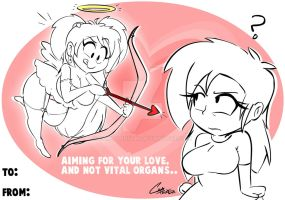 Valentines day card idea by CamToonsTM