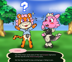 Perma-Animal Crossing Friends Forever by Redflare500