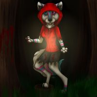Little Red Riding Werewolf by Crystal-WolfDarkness