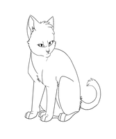 Warrior Cats character base by RussianBlues