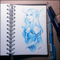 Sketchbook - Stellagosa by Candra