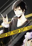 iphone bg-trapped Izaya by Nemukuri