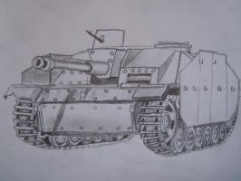 Stug IIIE by warrior1944