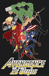 Avengence Is Ours! by Asher-Bee