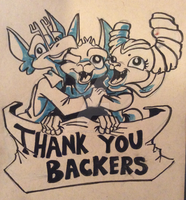 Thankyou Backers! by LytletheLemur
