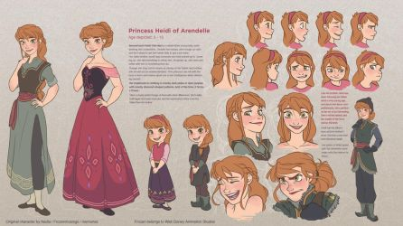 Heidi - Character Sheet by NightLiight