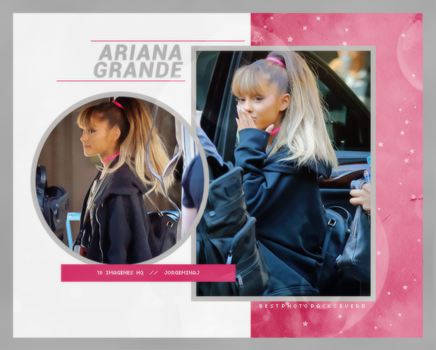 Photopack 17506 - Ariana Grande by southsidepngs