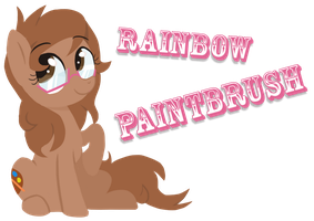 Rainbow Paintbrush (request) by wolfy987