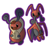#401 and #402, Kricketot and Kricketune