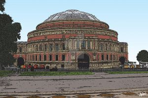 Royal Albert Hall by andart