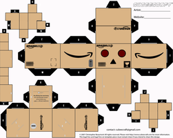 Amazon Danbo Cubeecraft by LimeTH