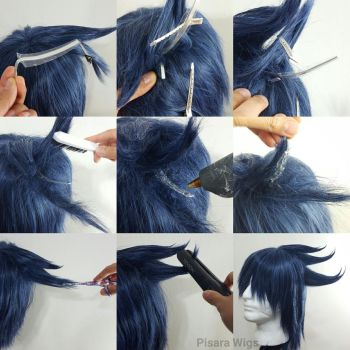 Wig hack #7: Spiky Wire tutorial by Pisaracosplay
