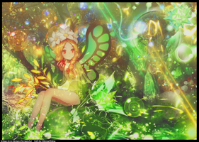 [Gift] (For Nick) Fairy and Forest by Ichigo-Miranda