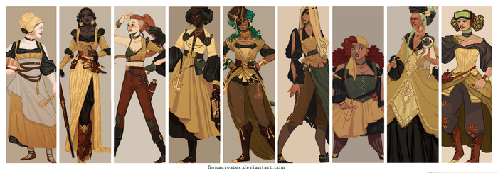 Steampunk Extravaganza by FionaCreates