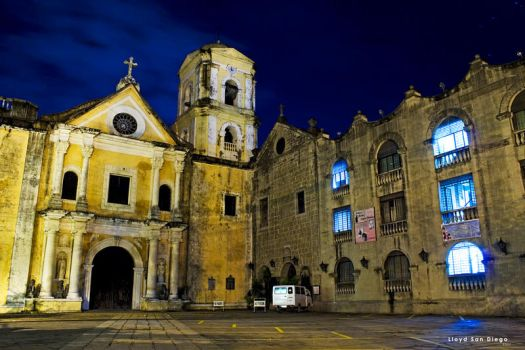 San Agustin Church II by animagiLLOYD
