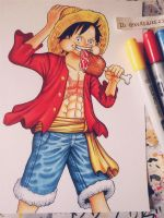Simple Luffy by kerosuke23
