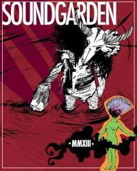 Poster design contest SOUNDGARDEN by Davanyta