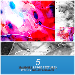 5 Smudge Textures - TLR by TheLostResources