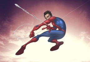 Spider-man -basic- by PatrickBrown