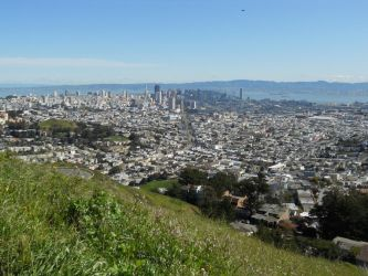 San Francisco From Twin Peaks by mit19237