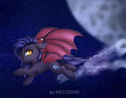 [YCH] Fly through the night by Mici124