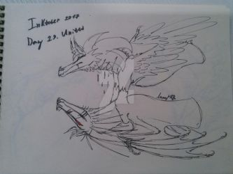 Alkara's Inktober. Day 29. United by Alkaras-Adventures