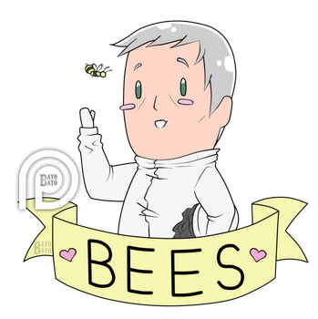 Tiny Jimmy Loves Bees by bayobayo