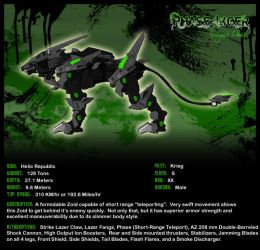 Zoids: Phase Liger by FragmentChaos