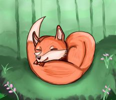 Little Fox by omegahell