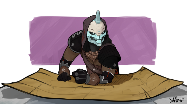 Cayde-6 by tomaytoTOMAHTO