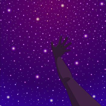 Pride Month - Reach for the Stars (purple - spirit by ColetteBrunel179