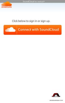 SoundCloud for Android - Conne by JesterXL