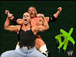 wwe DX by jaryljt