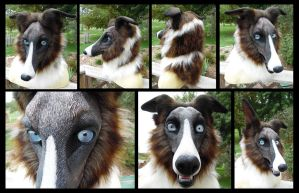 Kora Borzoi mask by KandorinCreations