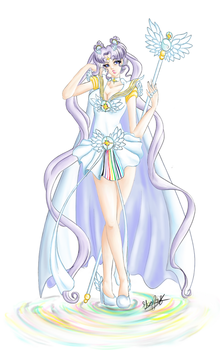 Sailor Cosmos - Coloured Puddles by Ebsie