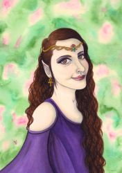 Elven Princess by VictoriaThorpe