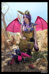 Armored Spyro the Dragon Cosplay #2 by KrazyKari
