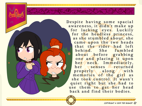Another Princess Story - Spare Heads by Dragon-FangX