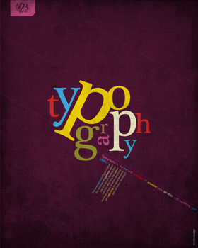 typography is king by LeMex