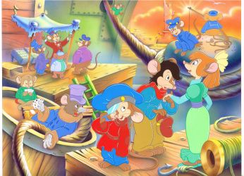 Original American Tail Artwork by AnimationValley