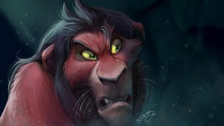 Scar Painting Study by TehChan