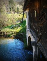 Old mill on the river Gradac IV by VesnaRa014