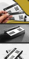 Plastic Normal Business Card by UnicoDesign