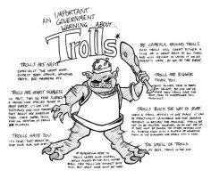 Rockwart: Troll Warning by Buml0r