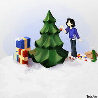 Christmas Tree! by Maybellez