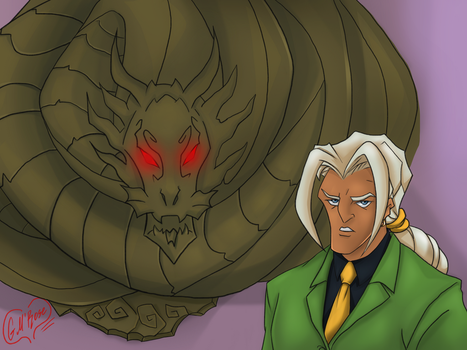Val and Shendu by GoldieMilrose