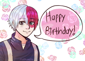 [Gift] Todoroki thing by Mashmelllo
